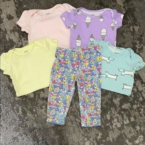 Baby Girl Bundle Size 9 Months
